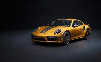 Porsche představuje jedinečnou chuťovku, nejsilnější 911 Turbo S v historii