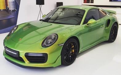 Porsche prichádza na trh so špecifickým lakom, za cenu ktorého by ste si kúpili ďalšiu 911-ku