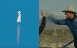 Posádka Jeffa Bezosa zvládla let do vesmíru, ktorý absolvoval historicky najmladší i najstarší pasažier