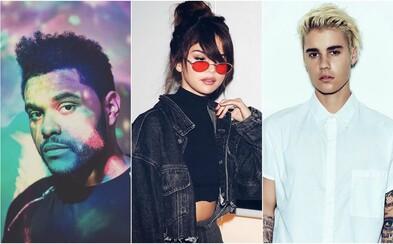 Posílá The Weeknd vzkaz Justinu Bieberovi? Nová skladba je pravděpodobně opět o Seleně