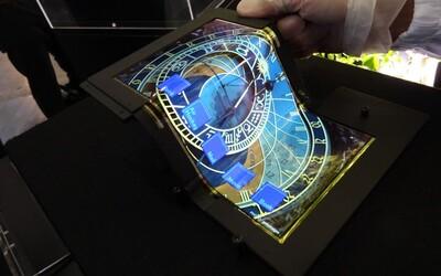 Poskladať si tablet alebo telefón ako kus papiera a vložiť do vrecka? Áno, prosím!