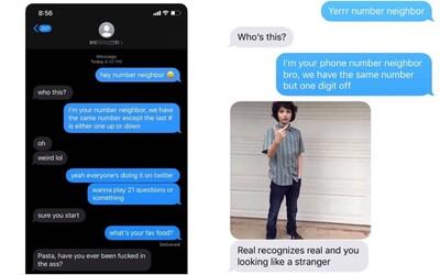 """Poslal jsi už SMS svému """"telefonickému sousedovi""""? Internet válcuje nový trend, lidé posílají zprávy téměř stejnému číslu"""