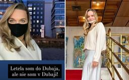 Poslankyňa Romana Tabak odletela na dovolenku do exotického Dubaja. Vraj si chce oddýchnuť, nie sa mediálne prezentovať