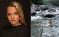 Poslankyňa Tabák sa veselo kúpala v chránenom potoku v Tatrách. TANAP na ňu podáva podnet na inšpekciu