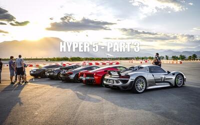 Posledná časť veľkolepého preteku HYPER5 odhaľuje kvality Porsche 918 Spyder, ktoré súperom nedalo šancu!