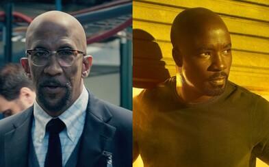 Posledná rola zosnulého Rega E. Catheyho - zahrá si otca Lukea Cagea v 2. sérii seriálu od Netflixu