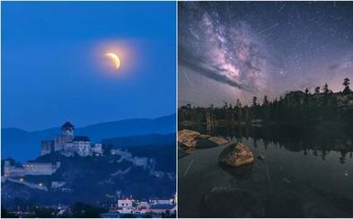 Posledné zatmenie Mesiaca v tomto desaťročí či meteorický roj. Aké nebeské úkazy nás čakajú v najbližších mesiacoch?