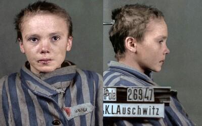 Poslední fotky 14leté dívky z Osvětimi, ze kterých mrazí. Zbili ji a nakonec zavraždili, přestože byla nevinná
