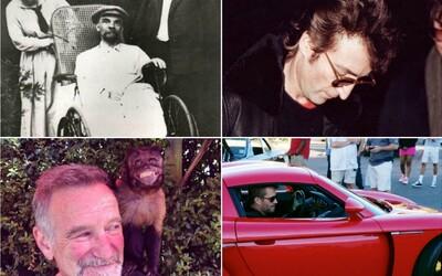 Poslední fotografie slavných osobností před smrtí. Nechybí Steve Jobs, Robin Williams nebo Paul Walker