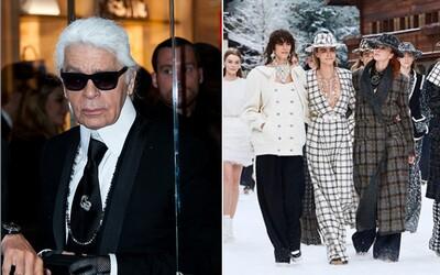 Poslední přehlídka Karla Lagerfelda pro Chanel byla dojemná. Nechyběla ani Cara Delevingne