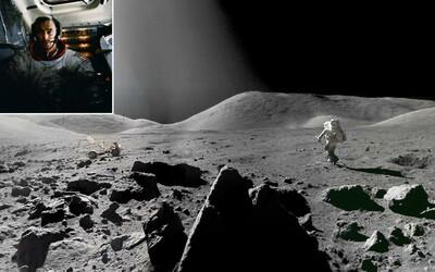 Posledný muž, ktorý sa prechádzal po Mesiaci, má korene na Slovensku. Na jeho povrchu zanechal aj našu vlajku