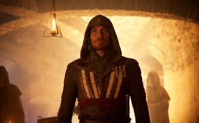 Posledný trailer pre Assassin's Creed konečne sprevádza skvelá hudba. Očarí nás Fassbenderov vrah a kaskadérska akcia?