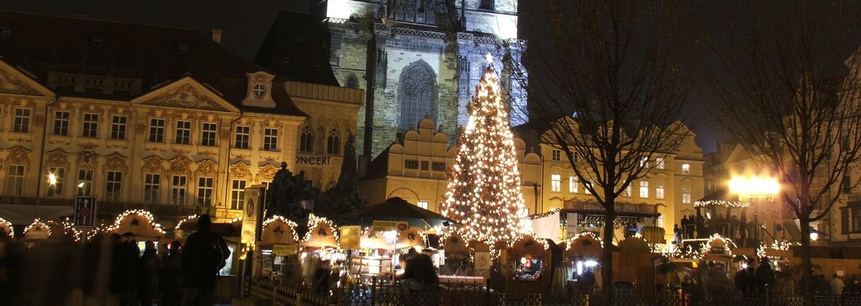 Pošli tip a vyhraj 10 tisíc korun. Lidé mohou letos opět vybrat strom, který bude stát během vánočních trhů na Staroměstském náměstí
