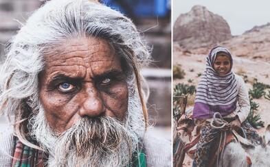 Pôsobivé zábery ľudí s ťažkým osudom vás chytia za srdce. V ich tvárach môžete vidieť životný príbeh