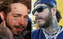 Post Malone si myslí, že je ošklivý. Tetování na tváři mu pomáhají bojovat s nejistotou