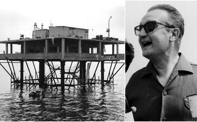 """Postavil si vlastní """"ostrov"""" a prohlásil se prezidentem. Po roce mu ho ale italská vláda vyhodila do povětří"""