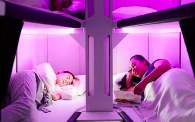 Postel přímo v nižší třídě letadla. Zélandská aerolinka představila pohodlný koncept dlouhého létání