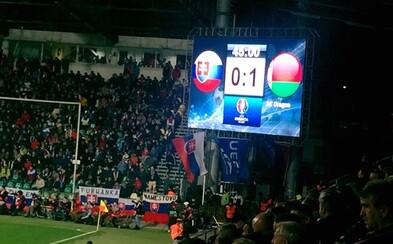 Postup na EURO 2016 sa odkladá, slovenská futbalová reprezentácia doma podľahla Bielorusku