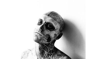 Potetovaný model Rick Genest spáchal sebevraždu