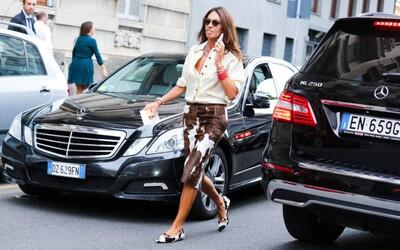 Potvrdilo Miláno svoju povesť mekky módy? Sleduj street style z Fashion Weeku
