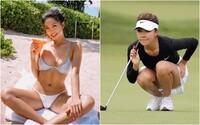 """Považujú ju za """"najsexi golfistku na svete"""". Číňanka Lily He žne úspechy na ihrisku aj na sociálnych sieťach"""