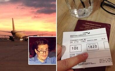 Řekl ne londýnskému nájemnému. Muž denně cestuje do Londýna až z Barcelony a i tak ušetří
