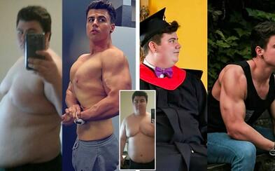 Původně 141kilový Danny má za sebou fascinující proměnu a teď váží o 60 kg méně! Tehdy by mu prsa záviděla nejedna žena a sám ví, že vypadal hrozně