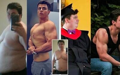 Pôvodne 141-kilový Danny má za sebou fascinujúcu premenu a teraz váži o 60kg menej! Vtedy by mu prsia závidela nejedna žena a sám vie, že vyzeral hrozne