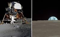 Povrch Mesiaca vo vysokých detailoch zo záberov astronautov misie Apollo 11 odkrýva všetku svoju krásu