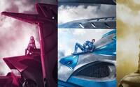 Power Rangers odhaľujú svojich Zordov na čerstvých plagátoch k filmu