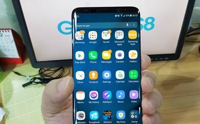 Pozeráme sa na Samsung Galaxy S8? Únik naznačuje rozmerný displej a odstránenie nápisu