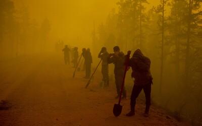 Požiare sa rýchlo šíria aj v Rusku. Horí tam územie s rozlohou Švajčiarska