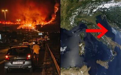 Požiare v Chorvátsku ohrozujú aj dovolenkujúcich Slovákov. Ako vyzerali posledné dni pri Jadranskom mori?