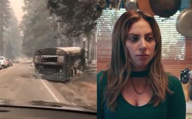 Požiare v Kalifornii prinútili evakuovať aj Kim Kardashian či Lady Gaga. Miesta tam vyzerajú ako po apokalypse