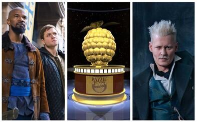 Poznáme nominácie na najhoršie filmy roka. Získa Zlatú malinu Johnny Depp, John Travolta či Bruce Willis?
