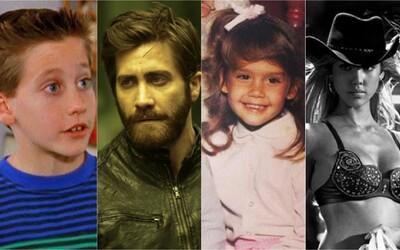 Poznáš herce podle fotografie z dětství? (Kvíz)