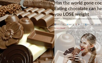 Pozor, z čokolády sa vraj chudne! Je tu však jeden háčik