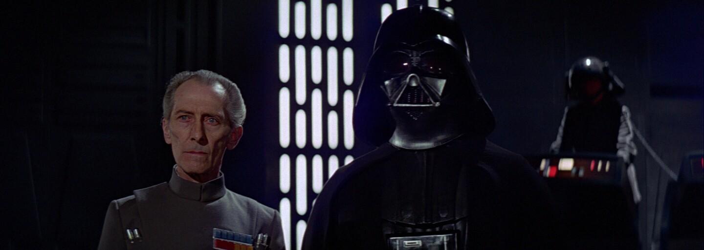 Pozoruhodné video odkrýva priebeh znovuzrodenia veľkoadmirála Tarkina pomocou špeciálnych efektov