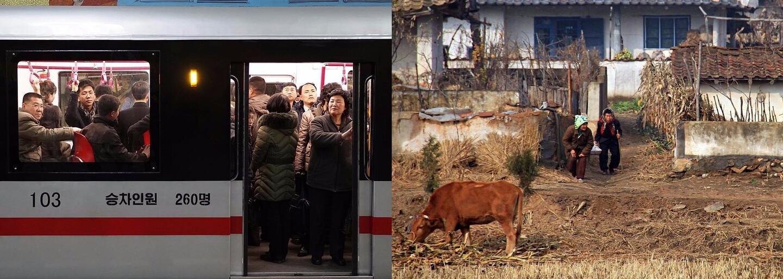 Pozoruhodný pohled na běžný život v Severní Koreji. Člověk by některým fotografiím ani nevěřil