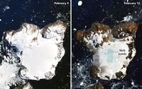 Pozri sa, ako vyzerá Antarktída po rekordnom teple začiatkom februára