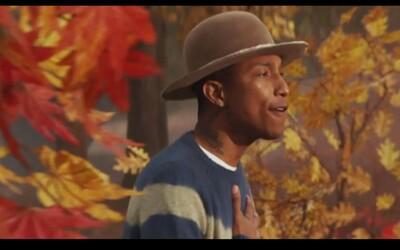 Pozri si video k ďalšej spolupráci medzi Pharrellom a Daft Punkom