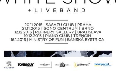 Pozri si videodokument z prvých dvoch zastávok Spiritovej White Tour. Exkluzívnu šou ešte zažije Bratislava, Trenčín a Banská Bystrica