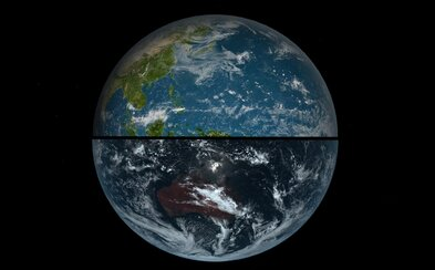 Pozrite sa, ako vyzerá naša planéta Zem bez retuše a v pravých farbách