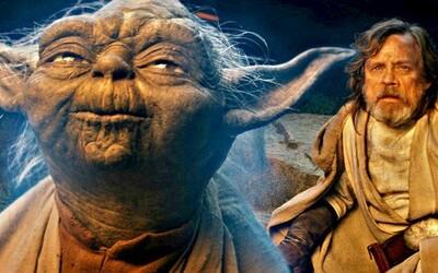 Pozrite si, ako sa Mark Hamill pri nakrúcaní scén s Yodom pre The Last Jedi neubránil dojatiu