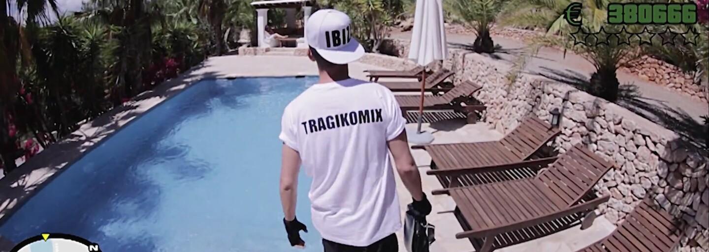 Pozrite si GTA v skutočnom živote očami Tragikomix vo videu Každý deň hustle