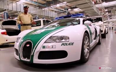 Pozrite si prehliadku exkluzívnych dubajských policajných áut!