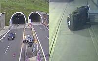 Pozrite si zostrih najnebezpečnejších nehôd v slovenských tuneloch, ktoré často skončili dosť nešťastne