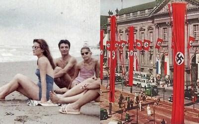 Pozůstatky po oběti atomové bomby či obrazy Adolfa Hitlera. Toto jsou nejzajímavější historické fotografie