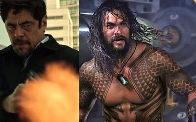 Práce na Sicario 3 sa už rozbiehajú a James Wan prezradil, že na trailer pre Aquamana si počkáme až do júlového Comic-Conu