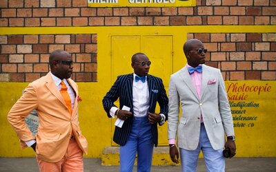 Prach, špína a k tomu cit pro módu a eleganci - Les Sapeurs